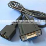 Spo2 Adapter Cable male 9pin to db9 female