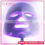 EYCO 7 colors Led mask 2016 new product Pore transparent and whitening Acne and cell metabolism