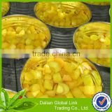 Chinese Canned yellow peach dices