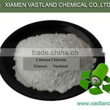Lithium chloride-lithium ion battery cathode materials