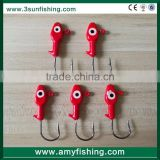 Fast Delivery Fishing Tackle lures jig head bait