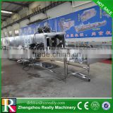 SUS vegetable basket washing machine/poultry crate washer/plastic pallets washing machine