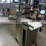 Full Automatic Chocolate coating line small chocolate enrobing machine mini chocolate machine