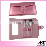 Pink cosmetic brush /makeup sets
