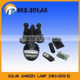 10pcs high bright LED, solar garden spot light with remote control (HRS-0202B )