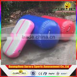 Customized Inflatable Gymnastic Equipment Inflatable air roll inflatable air barrel air tumble roll for gym