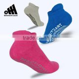 Free sample customized colorful cheap price antibacterial soft comfortable yoga Pilates anti-slip socks
