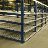 FIFO Storage Carton Flow Gravity Rack / Carton Live Rack