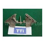OEM TTi Grey Two Cavities Molding Plastic Parts for Industial