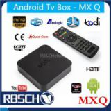 MXQ Live Streaming Media Player Amlogic S805 Smart Android 4.4 TV BOX Quad core 1GB/8GB 4K Google Android TV BOX
