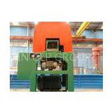 Small Volume Rubber Block Cutter 0.5-0.8t/h For Used Tire Recycling Machine