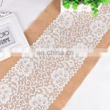 Decoration for the Christmas Craft Wedding of Hessian Table Runner