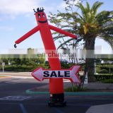 2017 Hot Sale inflatable air custome inflatable waving dancer inflatable advertising man air walker balloons