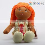 OEM design high quality EN71 tested plush classic clothing doll toys