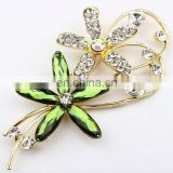 2015 rhinestone brooch wholesale with rhinestone