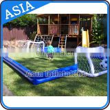 Easy Set Up Family Football Field / Inflatable Soccer Pitch for Sale