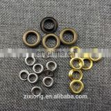 Wholesale 5mm metal brass eyelets small round metal grommets nickle/Black/Bronze