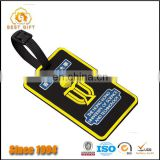 Dongguan manufacturer good promotional gifts travel luggage tag pvc