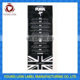 printing labels for dress manufacturer in china