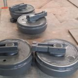 Excavator  parts Undercarriage parts Front Idler for all models with40Mn2/50Mn Material and different color