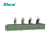 China Four Head Welding PVC UPVC Door Window Making Manufacturing Machine
