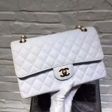 super quality Chanel classic flap beige chevron lambskin