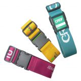 Adjustable Travel Luggage Strap Sublimation Custom Design Lock Belt Manufacturers