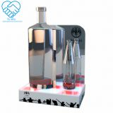 Lighting LED water wine liquor glorifier display stand