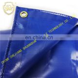 Blue thickened tarpaulin, waterproof, rain proof, acid and alkali resistant, non-toxic, environmental protection.