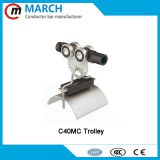 China factory supply festoon c-track cable trolley C40 C63 i-BEAM