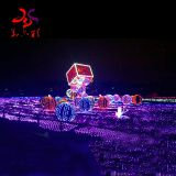 outdoor waterproof Christmas balls  3d motif lights for holiday decorations