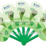 Newest foldable plastic hand fan with printed logo                                                                         Quality Choice
