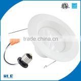 CEC certification IP44 6 inch smd 12W 18w for hotel lobby ac120v 6 inch cob anti glare indoor downlight