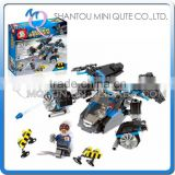 Mini Qute Senye Marvel Avenger super hero Batman Fighter plane chariot building block action figures educational toy NO.SY 300