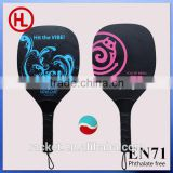 2015 TOP QUALITY Color Wooden Beach tennis racket /beach bat /beach paddle set with beach ball wholesale0