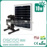 LED Solar Power Security Light PIR & Dusk Dawn Sensor Outdoor Floodlight pir sensor led emergency light