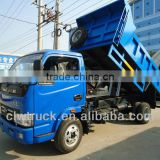 2015 china new 3 tons Yuejin tipper truck in Nigeria, Euro IV hydraulic mini dumpers