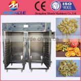 Banana slice drying machine with hot air by electric heating/banana dryer oven/fruits dryer