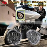 New arrivel!Aluminum housing IP67 led car motorcycle lamp for Polaris Victory Motorcycle