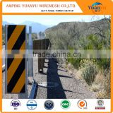 Traffic safety highway guardrail anti dazzle board