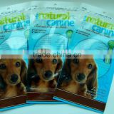 PE Vaccum Plastic dog food chips packaging bags for dry dog food