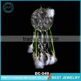 New Style Beads Chicken Feather Cotton String Fashion Dream Catcher with A Rhinestone Jewwly Natural Crefts Dream Catcher