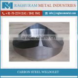 High Precision Carbon Steel Weldolet F44 from Wholesale Trader at Amazing Rate
