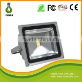 Outdoor ce rohs led flood light high lumen 1800lm 20w aluminum led energy saving floodlight