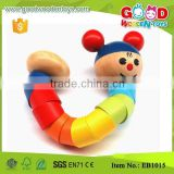 Intelligence Kids Bendy Spine Wooden Promotion Toy                                                                         Quality Choice