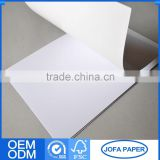 Lowest Cost Superior Quality Popular Silicon Coated Glassine Paper