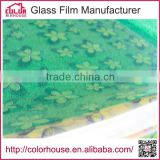 removable protective glass window self-adhesive laser sticker