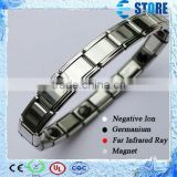 High Quality Positive Energy Bracelet for Men/Wormen with Germanium Stones and Far Infrared Stones