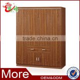 easy assemble wooden wardrobe bedroom furniture storage cabinet design FC403