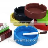 Cheap silicone rubber ashtray with custom logo